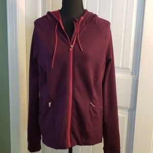 🧥 NWOT Fabletics Hooded Zippered Jacket